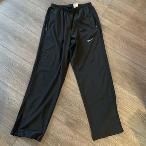 Nike running pants black exercise xlarge